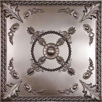 Alexander Faux Tin 2 ft. x 2 ft. Lay-in or Glue-up Ceiling Panel (Case of 6)