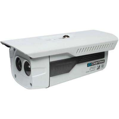 Wired Indoor/Outdoor IR Bullet Camera with 600TVL and 3.6 mm Lens