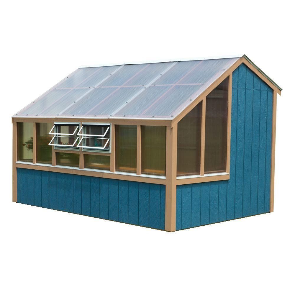 Best Barns Clairmont 8 ft. x 12 ft. Grow-N-Stow Greenhouse Kit without Floor