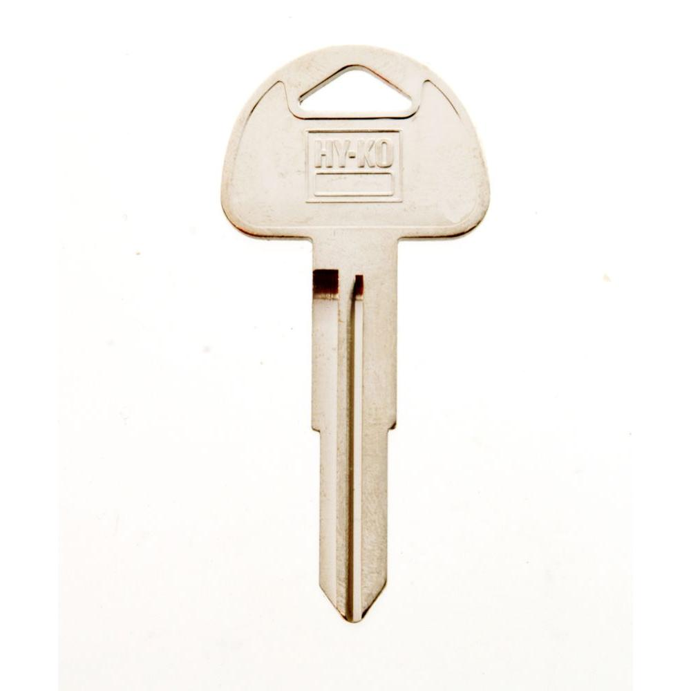 Suzuki Motorcycle Key Blank