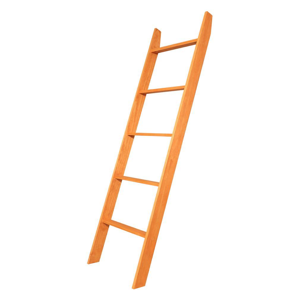 72 in. x 20 in. Maple Decorative Blanket Ladder
