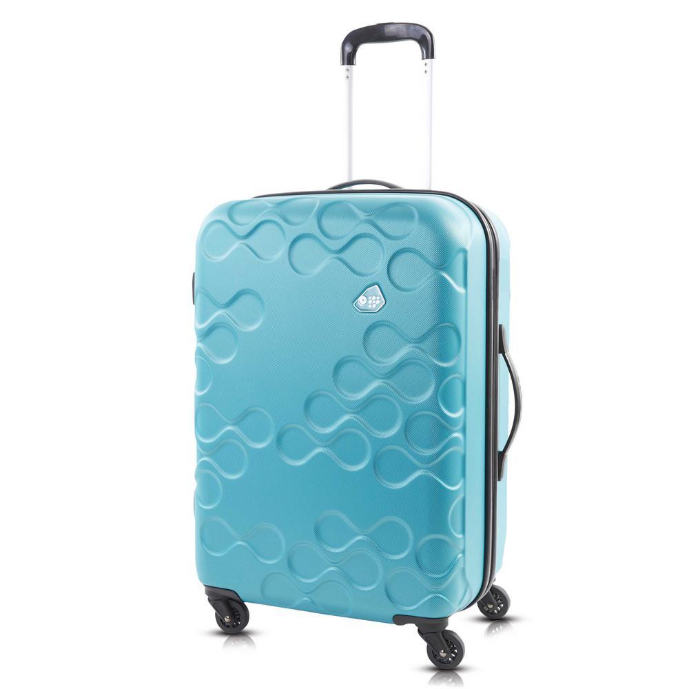 Harrana 3-Piece Turquoise Spinner Luggage Set