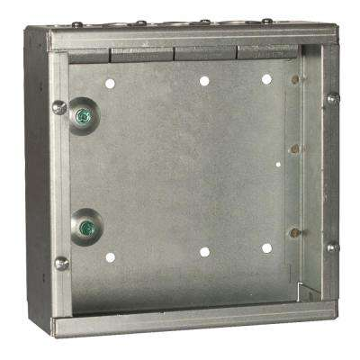 12 in. x 12 in. NEMA 1 Grand Slam Junction Box with Built-In STAB-IT Clamps with No Knockouts