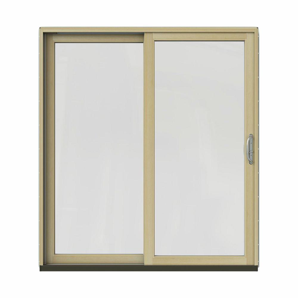 72 in. x 80 in. W-2500 Contemporary Bronze Clad Wood Left-Hand Full Patio Bifold Doors Melbourne on