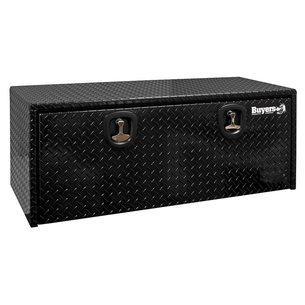 48 Gloss Black Aluminum  Underbody Truck Tool Box