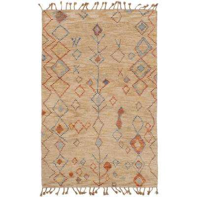 Tangier Tan 5 ft. x 8 ft. Indoor Area Rug