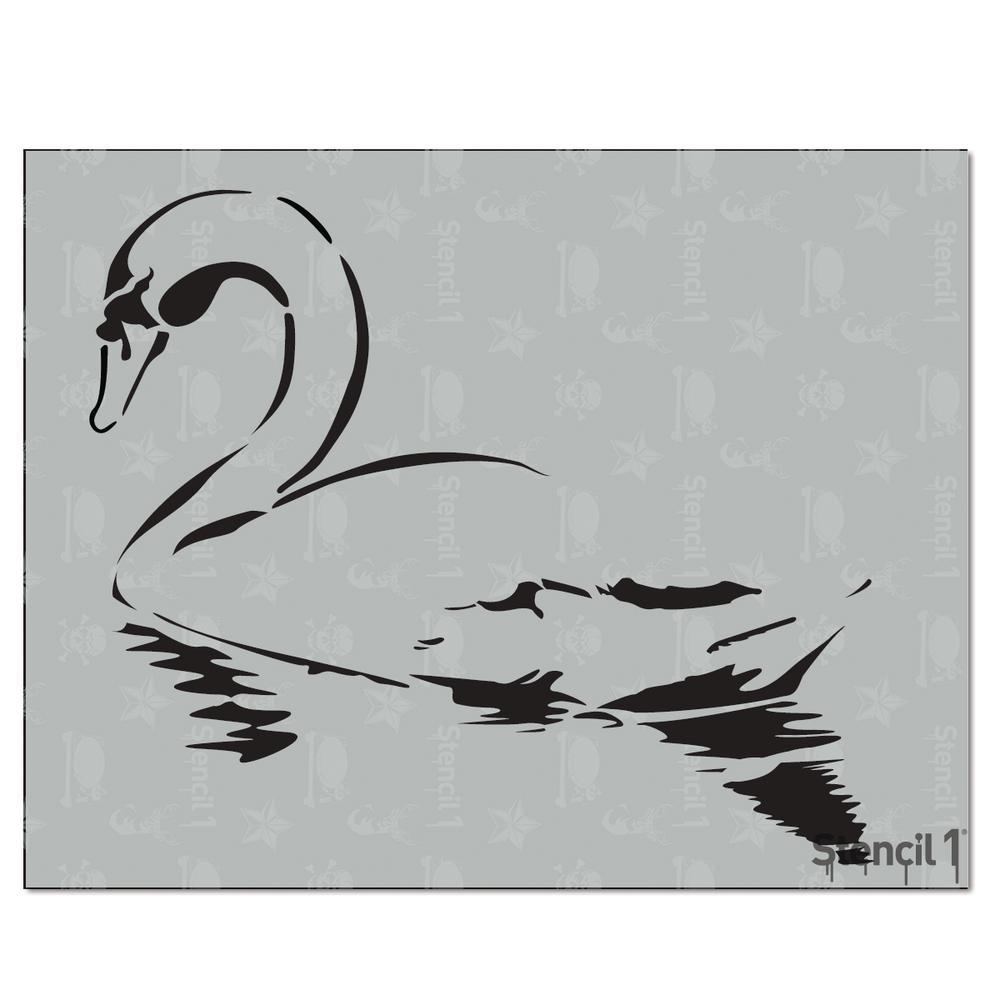 Stencil1 Swan Stencil