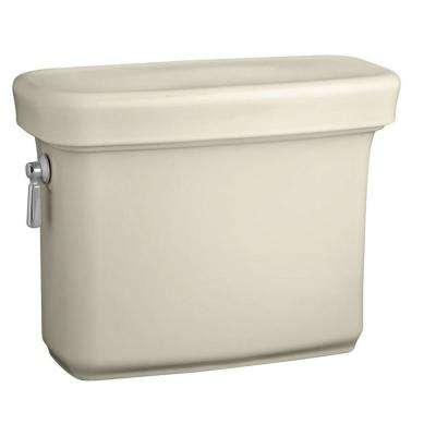 Bancroft 1.28 GPF Single Flush Toilet Tank Only with AquaPiston Flush Technology in Almond