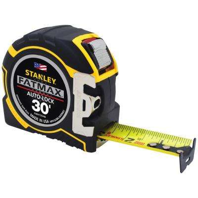 FATMAX 30 ft. x 1-1/4 in. Auto Lock Tape Measure