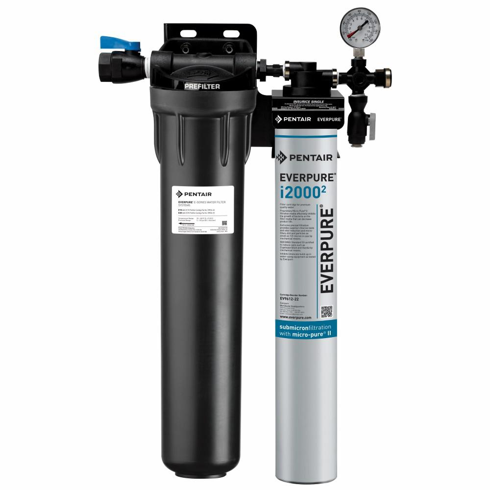 Insurice Single with Pre-Filter Commercial Ice Machine Water Filtration System