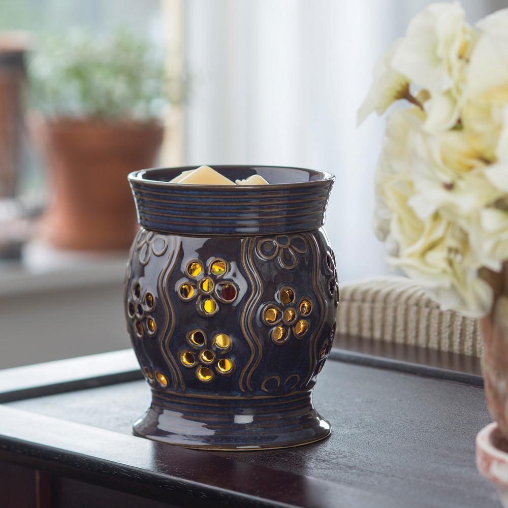 7.3 in Bloom 2-in-1 Flickering Fragrance Warmer