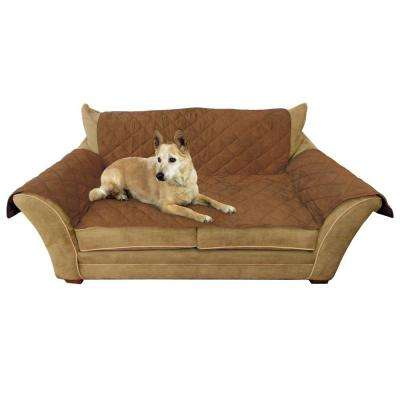 Mocha Loveseat Furniture Cover