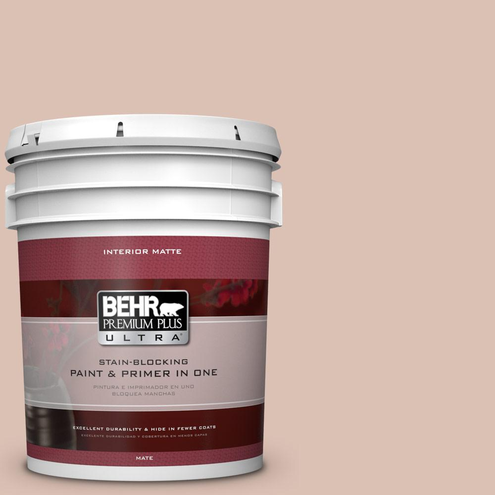 BEHR Premium Plus Ultra 5 gal. #760A-3 Regal Flat/Matte Interior Paint