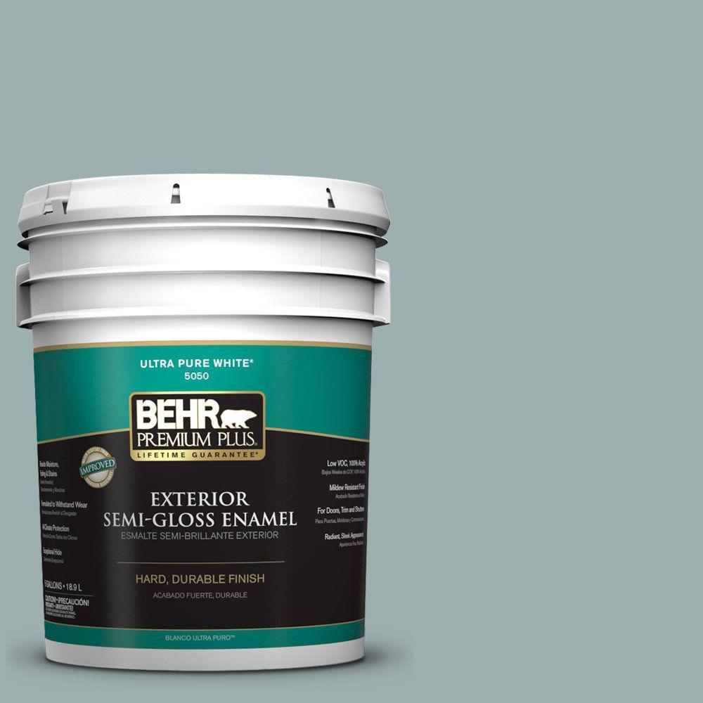 BEHR Premium Plus 5-gal. #PPF-36 Veranda Charm Semi-Gloss Enamel Exterior Paint