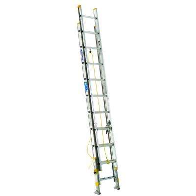 20 ft. Aluminum D-Rung Equalizer Extension Ladder with 250 lb. Load Capacity Type I Duty Rating