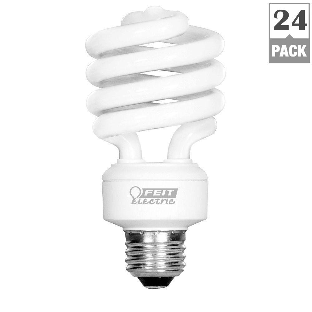 Feit Electric 100w Equivalent Soft White 2700k Spiral Cfl Light Bulb 24 Pack Esl23tm 4 Eco 6