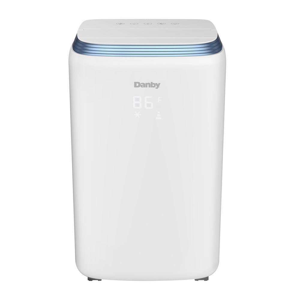 14000 BTU (8000 SACC) Portable Air Conditioner with Dehumidifier in White