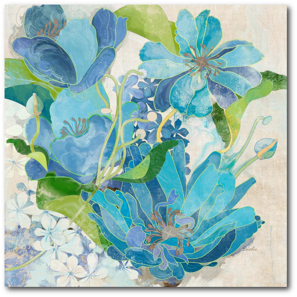 Courtside Market Chic Providence I Gallery-Wrapped Canvas Nature Wall Art 24 in. x 24 in., Multi Color was $115.0 now $64.03 (44.0% off)