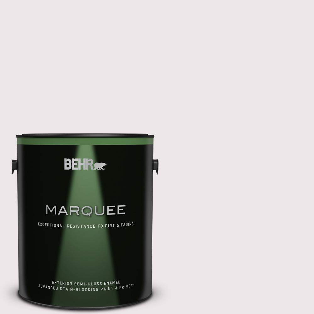 Reviews For Behr Marquee 1 Gal 670c 1 November Pink Semi Gloss Enamel Exterior Paint Primer 545001 The Home Depot