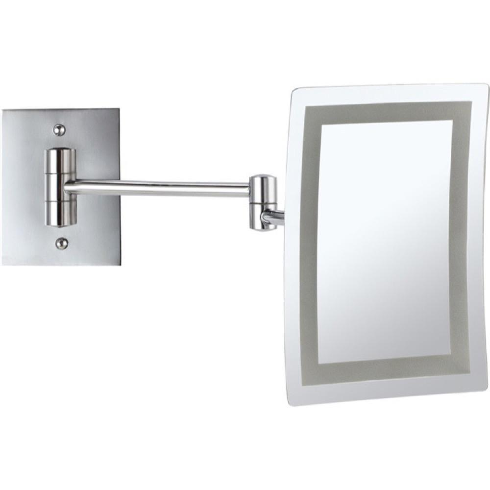 Glimmer 6.3 in. x 8.7 in. Wall Mounted LED 3x Rectangle