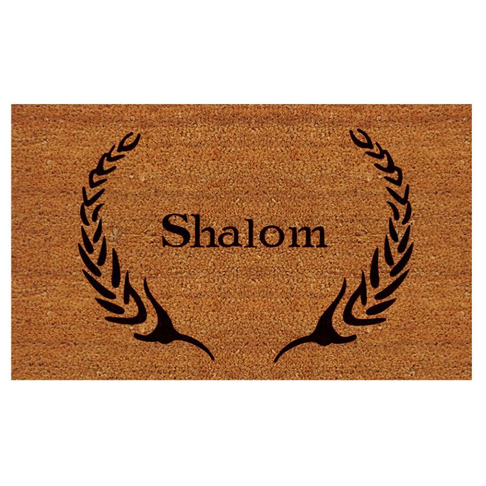 Shalom Door Mat 17 in. x 29 in.