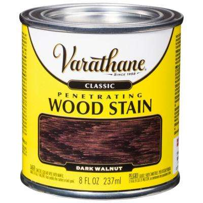 8 oz. Dark Walnut Classic Wood Interior Stain