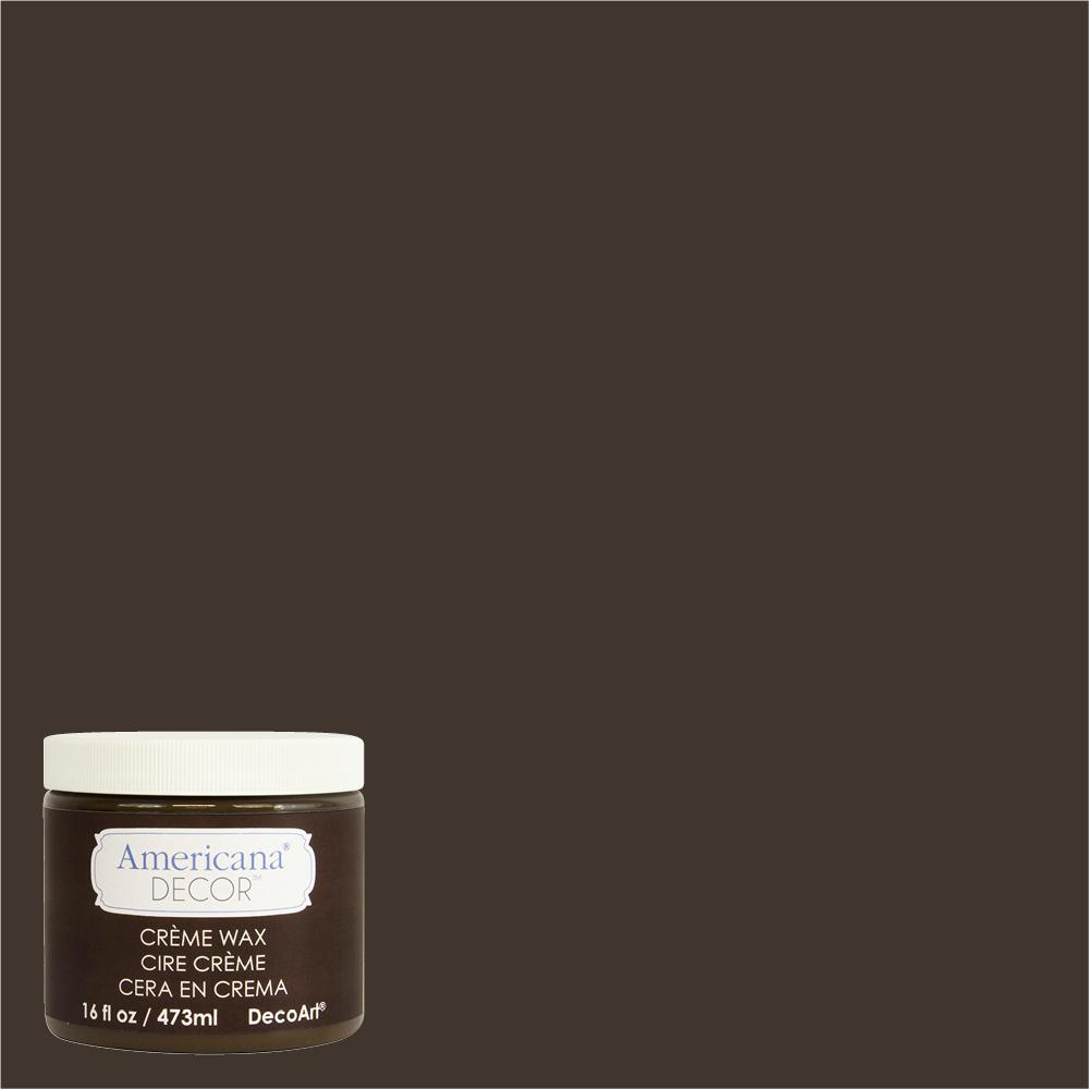 DecoArt Americana Decor 16 oz. Deep Brown Creme Wax