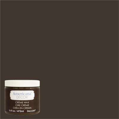 Americana Decor 16 oz. Deep Brown Creme Wax