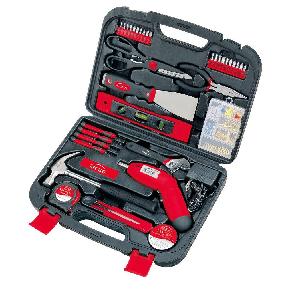135-Piece Household Tool Kit