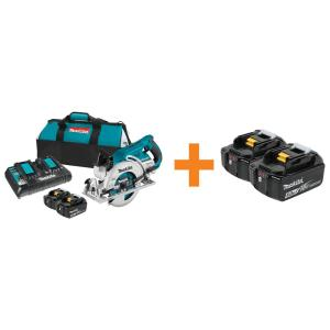 Deals on Makita 18-Volt X2 LXT  Cordless Rear 7-1/4 in. Circular Saw w/2 Battery