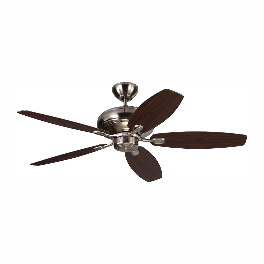 Monte Carlo Centro Max 52 in. Brushed Steel Silver Ceiling Fan was $168.72 now $134.97 (20.0% off)