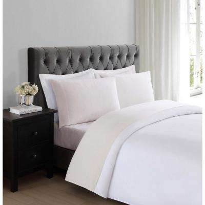 Everyday Ivory Queen Sheet Set