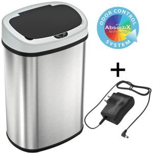 iTouchless AC Power Adapter for Stainless Steel Automatic Sensor Trash Cans,...