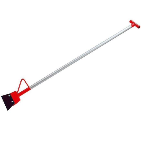 7 in. Wide Floor Scraper and Stripper with 48 in. Handle and Foot Peg