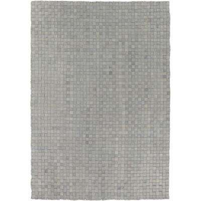 Mapleton Gray 2 ft. x 3 ft. Indoor/Outdoor Area Rug