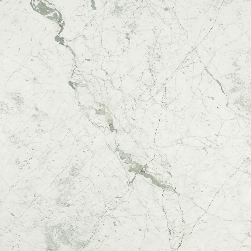 3 in. x 3 in. Marble Countertop Sample in Carrara White Honed Marble