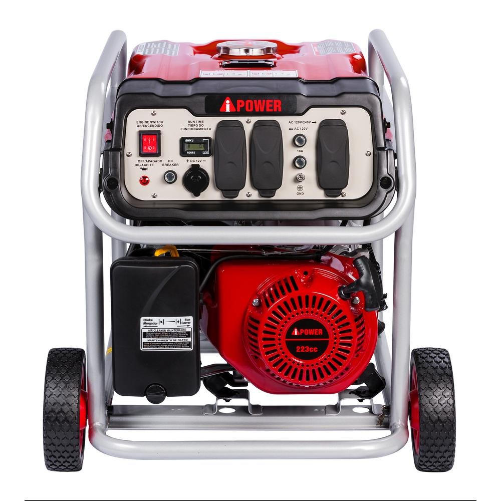 A-iPower 4250-Watt Gasoline Powered Portable Generator