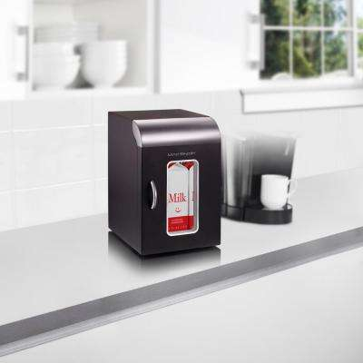 Cube-Mini Coffee Station Refrigerator, Black