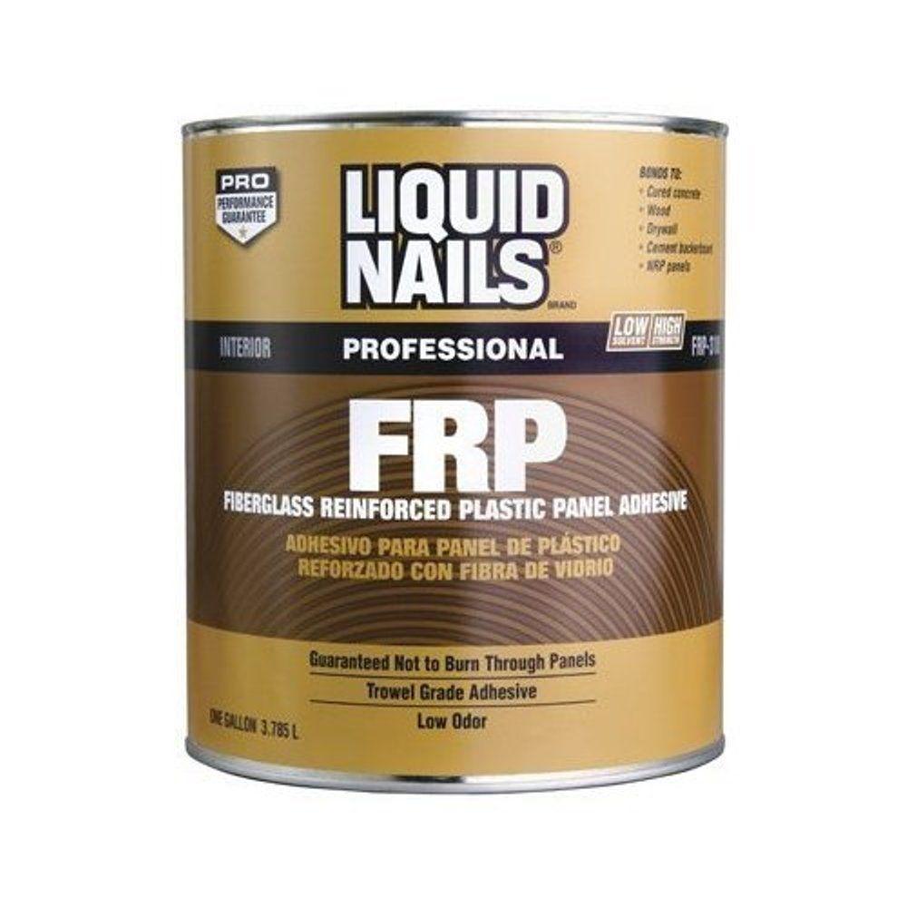 Liquid Nails Fiberglass Reinforced Panel (FRP) 1 gal Low VOC ...