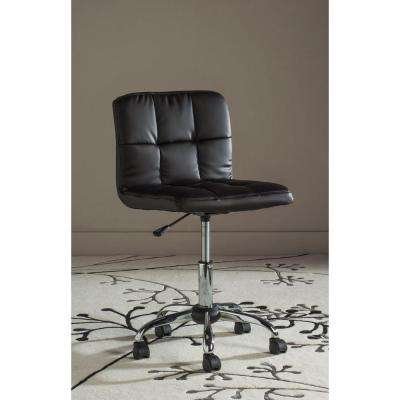 Brunner Brown Faux Leather Office Chair
