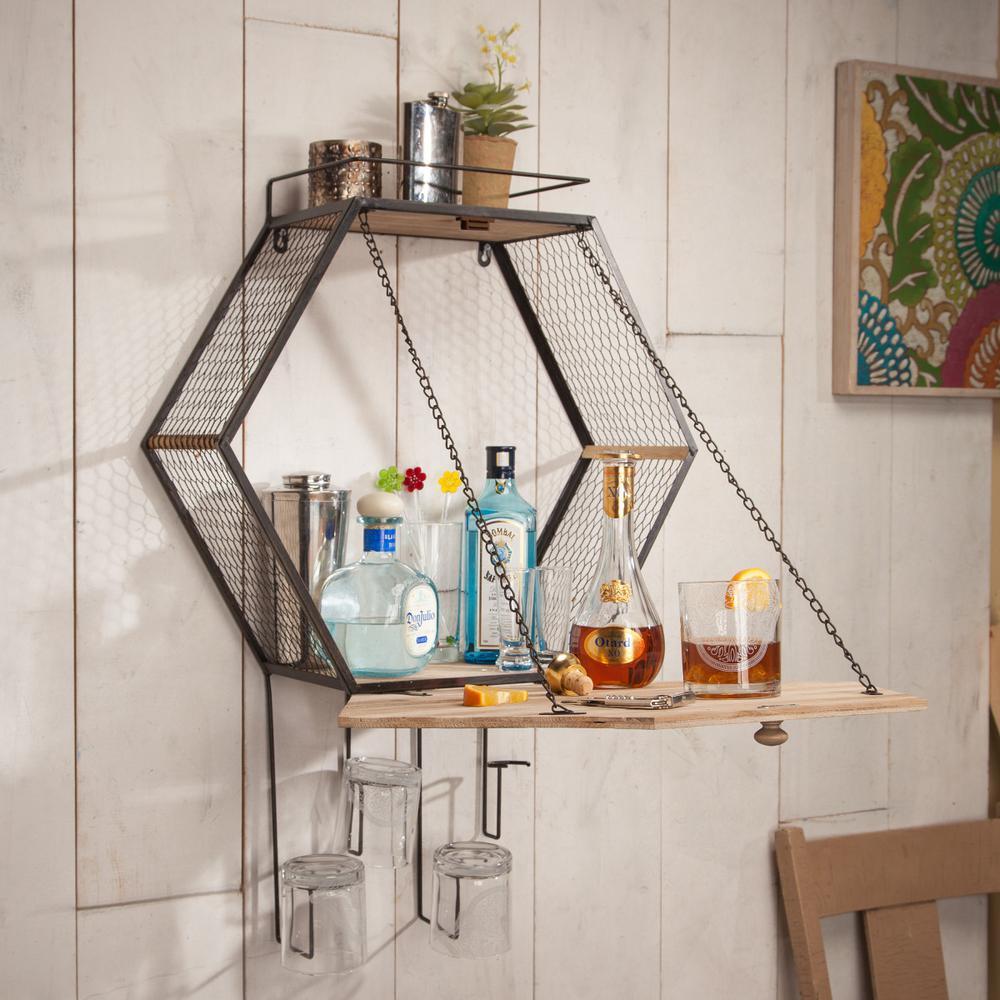 Gerson Metal Multi Honeycomb Wall Bar-93715 - The Home Depot