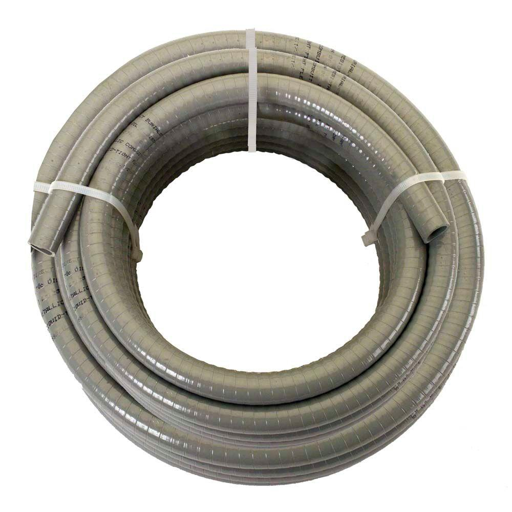 afc cable systems 1 2 x 25 ft non metallic liquidtight conduit 6002 rh homedepot com Home Depot Conduit Bender cable conduit home depot