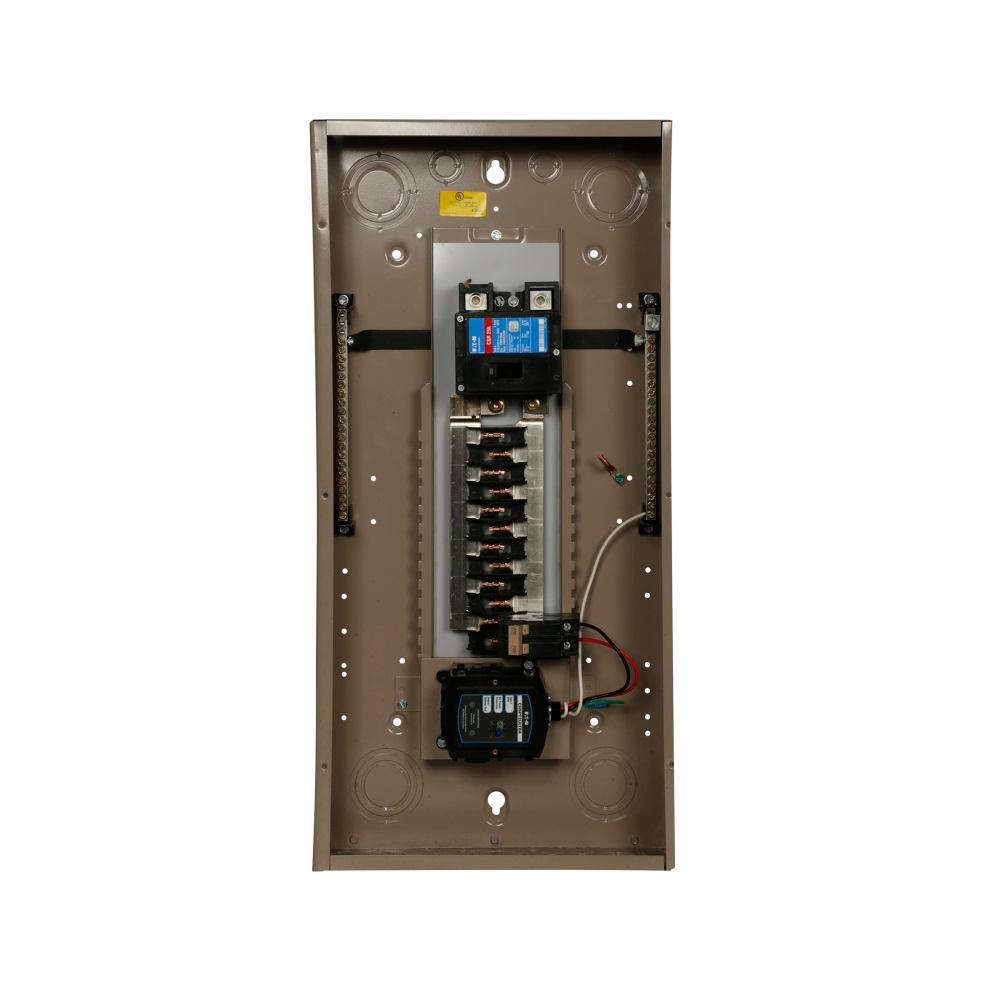 Type CH 100 Amp 24-Circuit Main Breaker Indoor Loadcenter with Surge