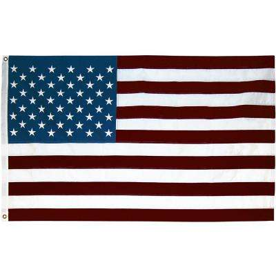 3 ft. x 5 ft. Printed U.S. Repreve Flag