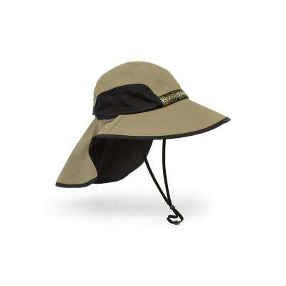 Unisex Adventure Hat with Neck Cape Large Sand