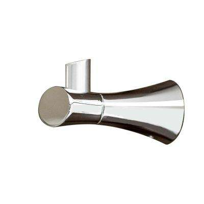 Caspian Single Robe Hook in Polished Chrome