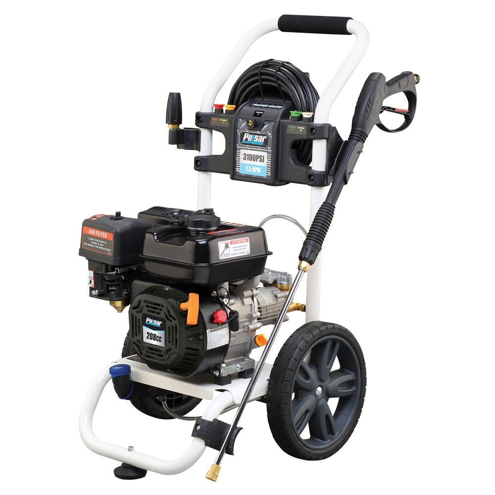 PULSAR PGPW3100H-AT 3100 PSI Gas Pressure Washer