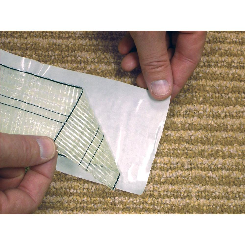 indoor outdoor double sided carpet tape roll safe easy apply peel stick adhesive 75378506058 ebay. Black Bedroom Furniture Sets. Home Design Ideas