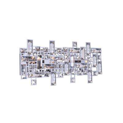 Arley 4-Light Chrome Sconce