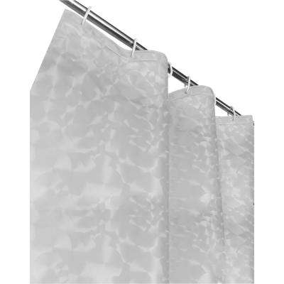 Sphere 72 in. Clear 3D Shower Curtain